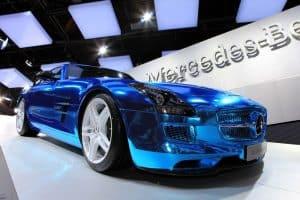 daimler group mercedes benz electric car