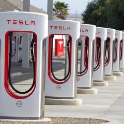 Tesla Supercharger Station Kettleman City, CA