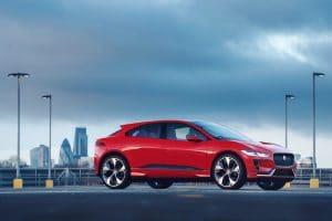 jaguars i-pace electric car