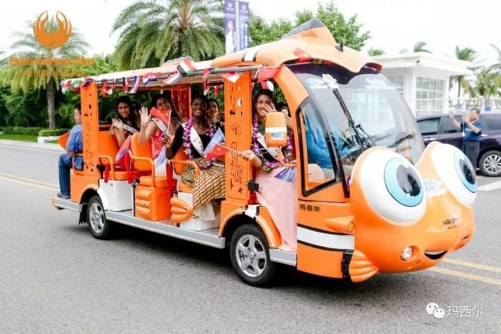 dolphin electric shuttle vehicle