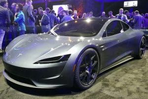tesla all electric roadster