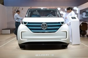 volkswagen electric concept car
