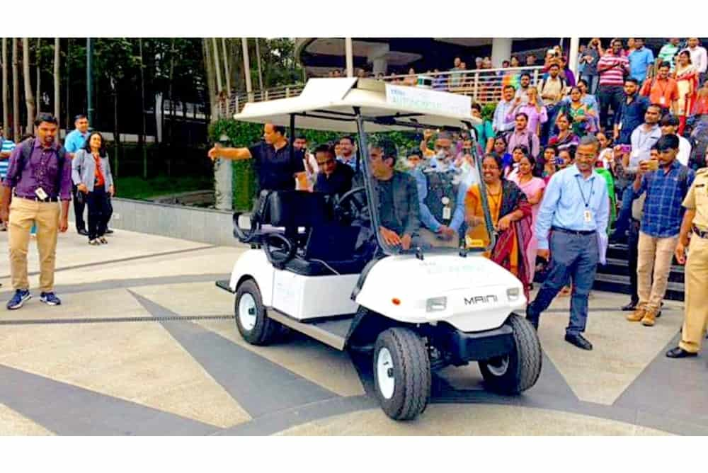 Did you Know Infosys are Developing Self Driving Golf Carts?