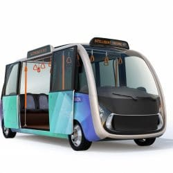 electric shuttle bus