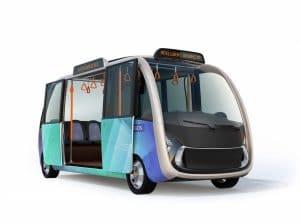 electric shuttle bus