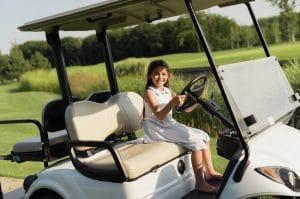 childrens golf carts