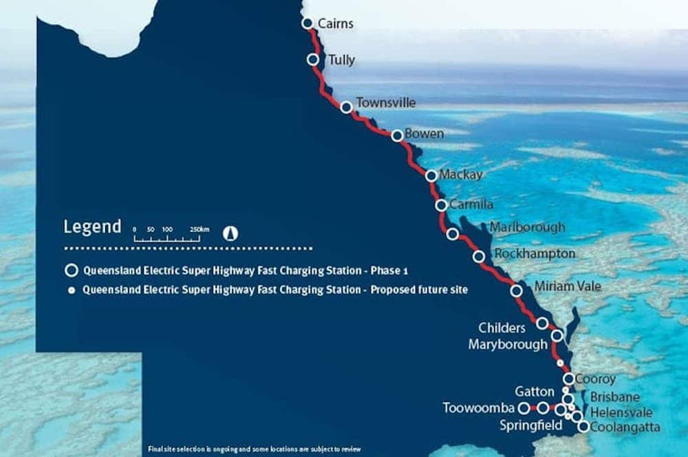 Queensland Introduces the World's First Electric Super Highway