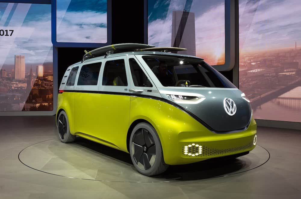 Latest Electric Vehicles: Introducing the Volkswagen I.D. Buzz Electric MicroBus