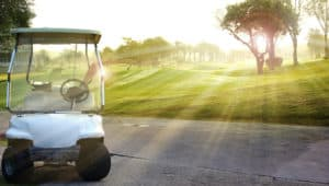 golf cart utility vehicles